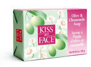 KISS MY FACE: Bar Soap Olive & Chamomile 8 oz