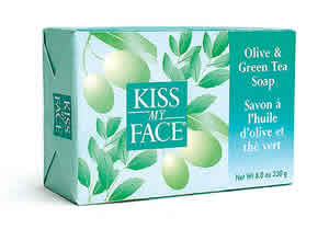 KISS MY FACE: Bar Soap Olive & Green Tea 8 oz
