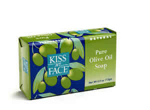 KISS MY FACE: Bar Soap Pure Olive Oil 4 oz