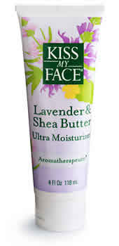 KISS MY FACE: Moisturizer Lavender & Shea Butter 4 oz