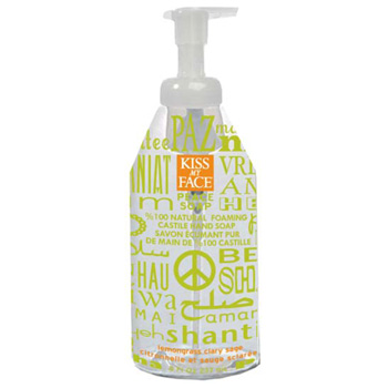 KISS MY FACE: Clary Sage Lemo  Peace Foaming Soap 8 oz
