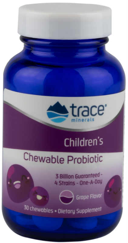 Trace Minerals Research: Children's Chewable Probiotic 3 Billion 30 Chews
