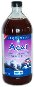 Trace Minerals Research: Liquid ACAI 32 fl.oz.