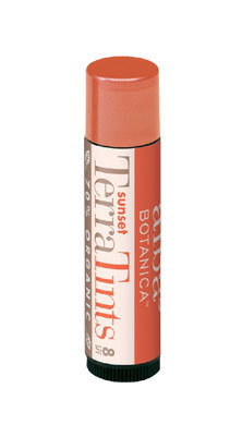 ALBA BOTANICA: TerraTint Lip Balm SPF18 Sunset .15 oz