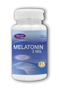 LIFE-FLO HEALTH CARE: Melatonin 120 caps