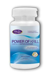 LIFE-FLO HEALTH CARE: Power of Krill™ 60 caps