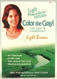 Color The Gray Brown-Light, 7 oz