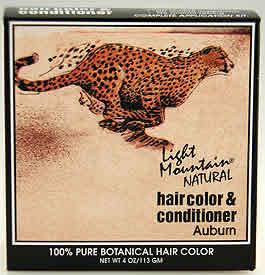 LIGHT MOUNTAIN HENNA: Hair Color Auburn 4 oz