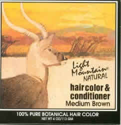 Haircolor Brown-Medium, 4 oz