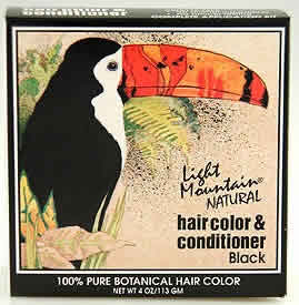 Haircolor Black, 4 oz