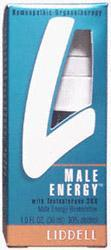LIDDELL HOMEOPATHIC: Vital Male Sexual Energy 1 oz