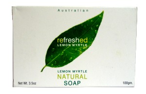 TEA TREE THERAPY INC: Lemon Myrtle Natural Soap 3.5 OZ