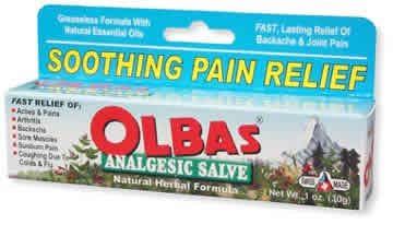 OLBAS: Analgesic Salve 1 oz