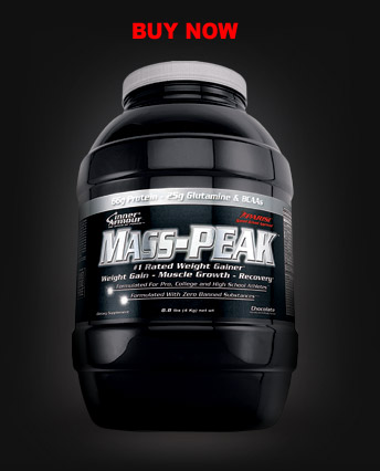 Mass-peak gainer van 8.8lb