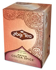 YOGI TEAS/GOLDEN TEMPLE TEA CO: Cocoa Spice Tea 16 bags
