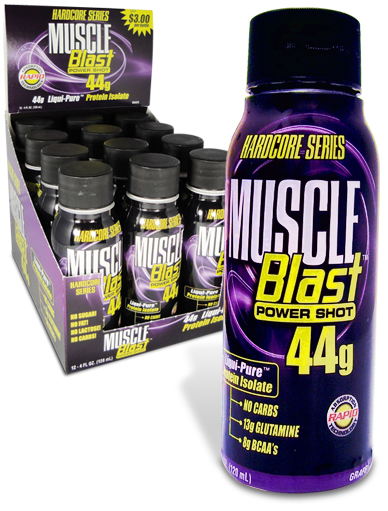 NUTRITION RESEARCH GROUP: MUSCLE BLAST TWINPK(2-4oz)8  BX 1