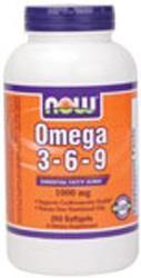 OMEGA 3-6-9 1000MG  250 SGELS, 1