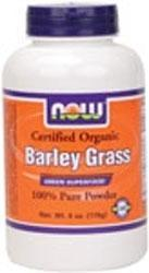 NOW: BARLEY GRASS ORGANIC  6 OZ 6 oz