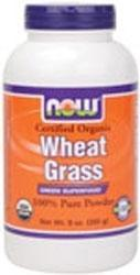 NOW: WHEAT GRASS POWDER ORGANIC 9oz 1