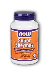 Now: Super enzymes  180 tabs 1