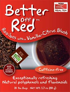 Now: Better off red rooibos tea 24 bags
