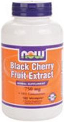 NOW: Black Cherry Fruit Extract 180 Vcaps