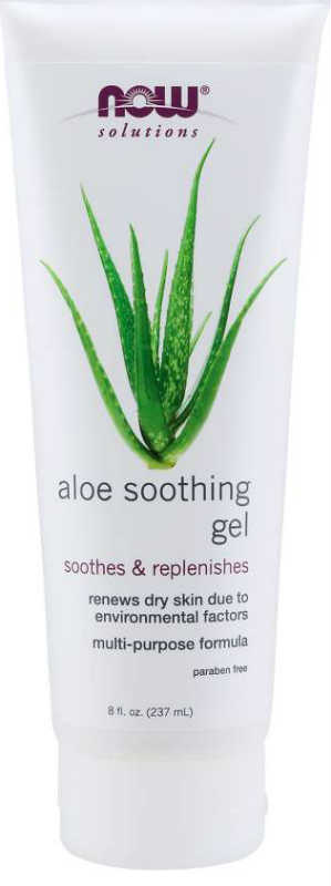 NOW: Aloe Soothing Gel 8 oz