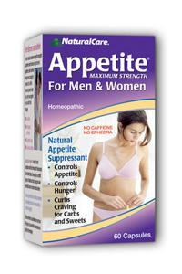 NATURALCARE PRODUCTS INC: Appetite Suppressant 60 caps