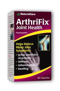 NATURALCARE PRODUCTS INC: ArthriFix 60 caps