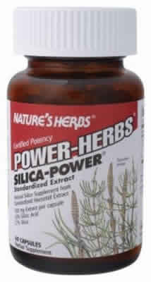 NATURE'S HERBS: Silica Power 60 caps