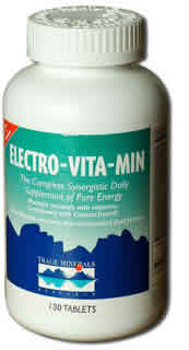 Trace Minerals Research: Electro-Vitamin-Mineral Reduced Iron cal citrate 360 tabs