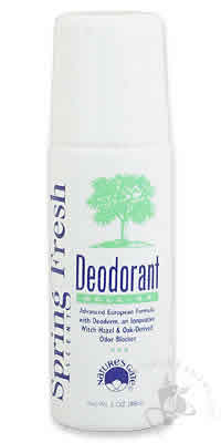 NATURE'S GATE: Deodorant Roll On Spring Fresh 3 oz
