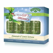 NATURE'S GATE: Chamomile and Lemon Verbena Travel Gift Set 4 pc