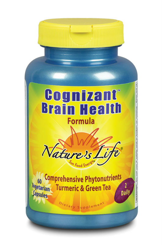 Natures Life: Cognizant Brain Health 60 Vegetarian Capsules