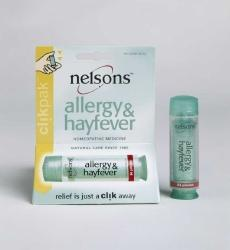 NELSON HOMEOPATHICS: Allergy-Hayfever Clikpak 84 pillules