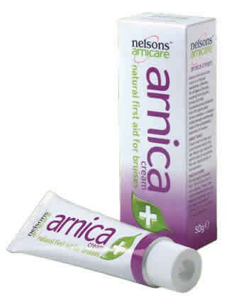 NELSON HOMEOPATHICS: Arnica Cream 50 gm