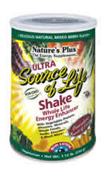 Natures Plus: Ultra Source of Life with Lutein Shake 1.12 lbs. (510g) Cans