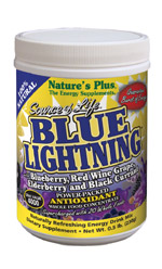 Natures Plus: BLUE LIGHTNING POWDER PACKETS 20 PK 20 Packets