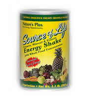 Natures Plus: SOURCE OF LIFE ENERGY SHAKE 2.2 LBS ct