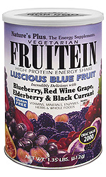 Natures Plus: FRUITEIN LUSCIOUS BLUE FRUIT SHKE 1.35LB 1.4 pound US