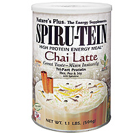 Natures Plus: CHAI LATTE SPIRUTEIN PACKETS 8 PK 8 Packets