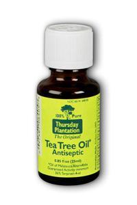 Natures Plus: 100  PERCENT PURE TEA TREE OIL Antiseptic 25 ML