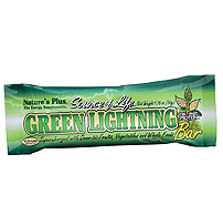 Natures Plus: SOL GREEN LIGHTNING BARS 20 20 bars