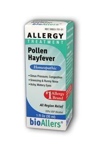 NATRA-BIO/BOTANICAL LABS: bioAllers Pollen  Hayfever Relief 1 fl oz