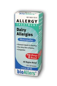 NATRA-BIO/BOTANICAL LABS: bioAllers Food Allergies Dairy Relief 1 fl oz