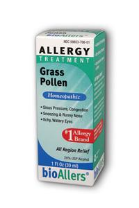 NATRA-BIO/BOTANICAL LABS: bioAllers Grass Pollen Allergy Relief 1 fl oz