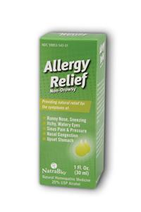 Natra-bio/botanical labs: Allergy relief 1 fl oz