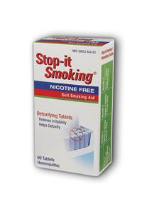 NATRA-BIO/BOTANICAL LABS: Stop It Smoking Homeopathic 60 tabs