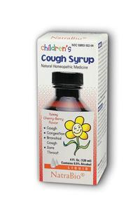 NATRA-BIO/BOTANICAL LABS: Children's Cough Syrup 4 fl oz