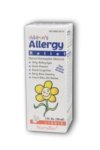 NATRA-BIO/BOTANICAL LABS: Children's Allergy 1 fl oz